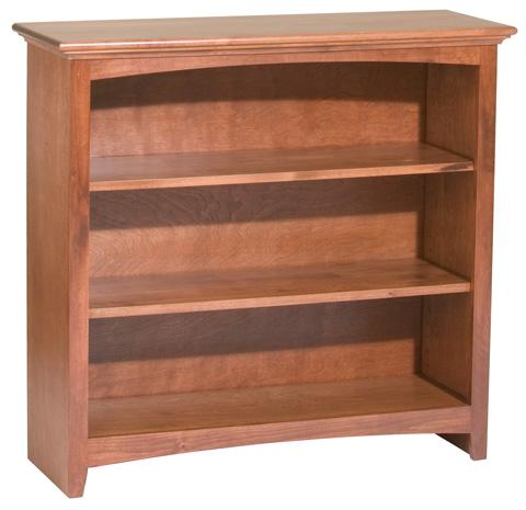 Whittier Wood Furniture - McKenzie Alder Bookcase - 1541AEGAC
