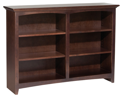 Whittier Wood Furniture - McKenzie Alder Bookcase - 1551AECAF