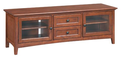 Whittier Wood Furniture - McKenzie Two Drawer Media Console - 2079GAC
