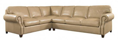 Whittemore Sherrill - Leather Sectional - 1830-33