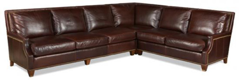 Whittemore Sherrill - Leather Sectional - 438-36