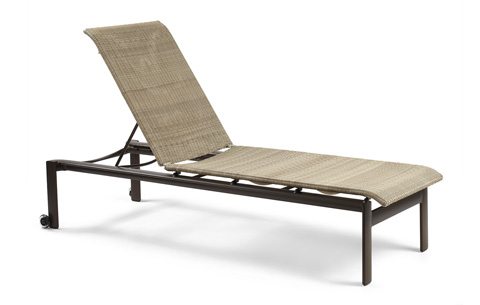 Winston Furniture Company, Inc - Armless Stack Chaise with Skate Wheels - M79029