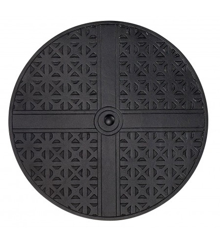 Woodard Company - Hampton Round Replacement Fire Pit Burner Cover - 05111
