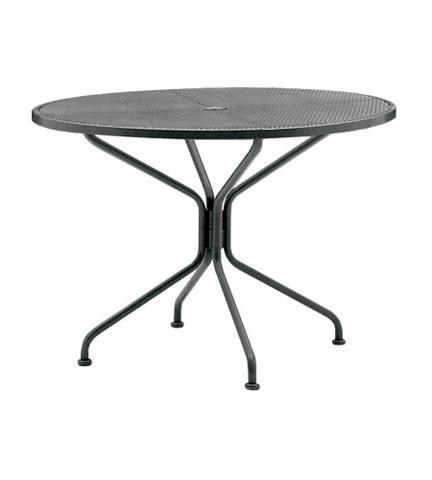 Woodard Company - Premium Mesh Round Dining Table - 190229