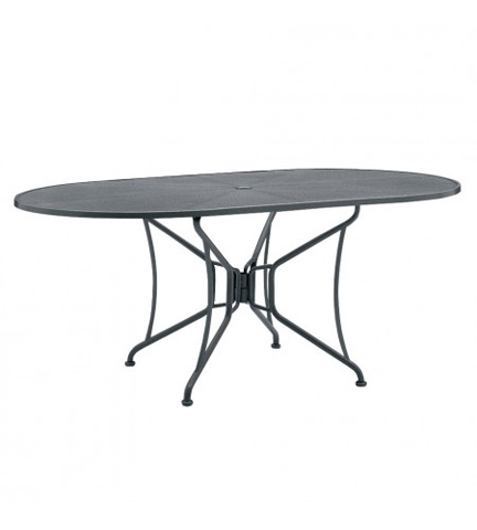 Woodard Company - Premium Mesh Oval Dining Table - 190303