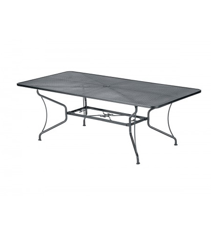 Woodard Company - Premium Mesh Rectangular Dining Table - 190309