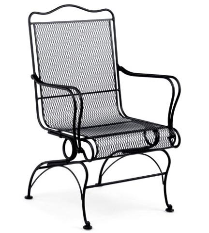 Woodard Company - Tucson High-Back Coil Spring Chair - 1G0066