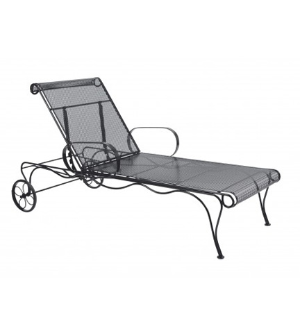 Woodard Company - Tucson Adjustable Chaise Lounge - 1G0070