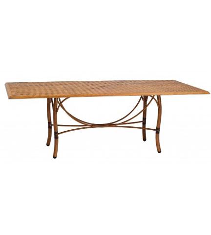Woodard Company - Glade Isle Rectangular Dining Table - 1T72BT