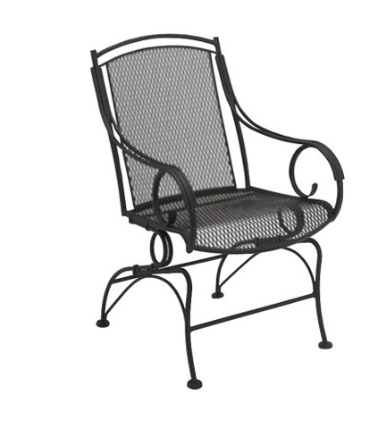 Woodard Company - Modesto Coil Spring Dining Chair - 260066