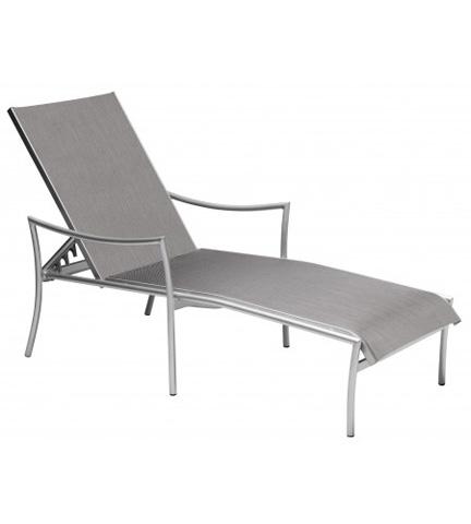 Woodard Company - Dominica Sling Adjustable Chaise Lounge - 2C0470
