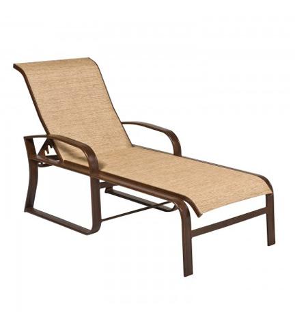 Woodard Company - Cayman Isle Sling Adjustable Chaise Lounge - 2FH470