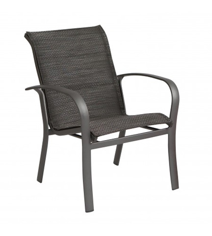 Woodard Company - Fremont Padded Sling Dining Arm Chair - 2PH501