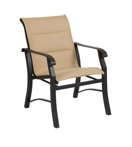 Woodard Company - Cortland Padded Sling Dining Arm Chair - 42H501