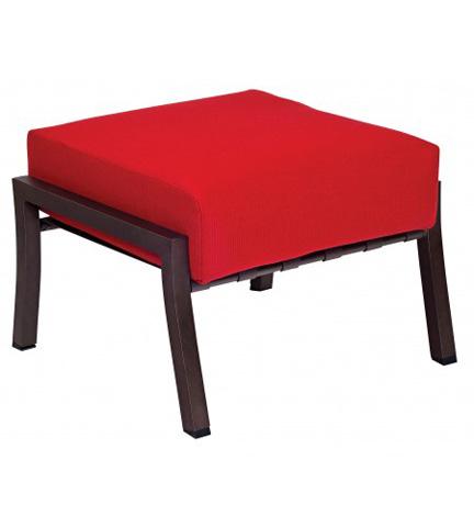 Woodard Company - Cortland Cushion Ottoman - 4Z0486