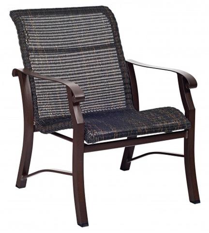 Woodard Company - Cortland Round Weave Lounge Chair - 5V0406