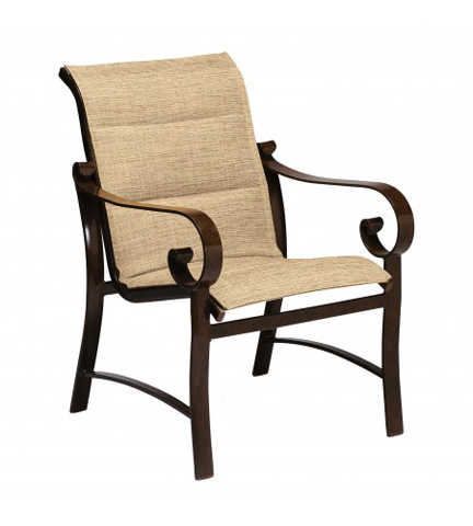 Woodard Company - Belden Padded Sling Dining Arm Chair - 62H501