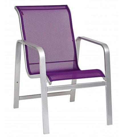 Woodard Company - Landings Sling Dining Arm Chair - 6G0417