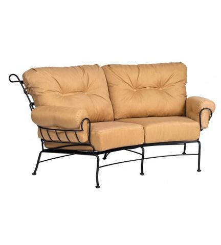 Woodard Company - Terrace Crescent Loveseat - 790063