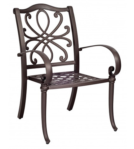 Woodard Company - Holland Dining Arm Chair - 7Z0417