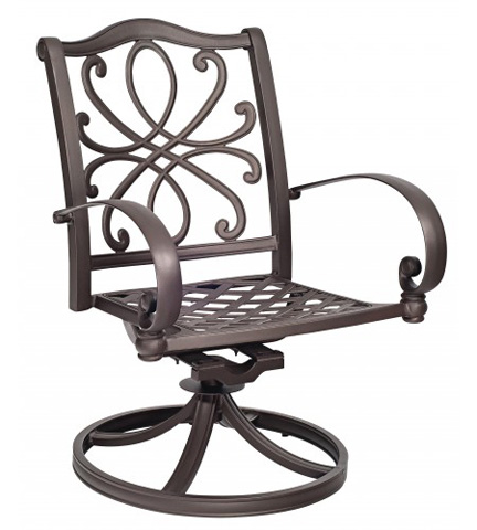 Woodard Company - Holland Swivel Rocking Dining Chair - 7Z0472