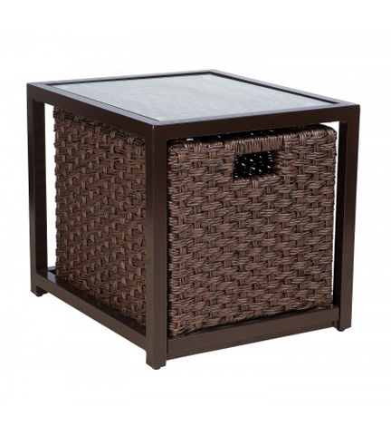 Woodard Company - Mona End Table with Drawer - S520201