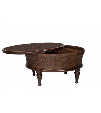 Woodard Company - North Shore Round Storage Cocktail Table - S540211