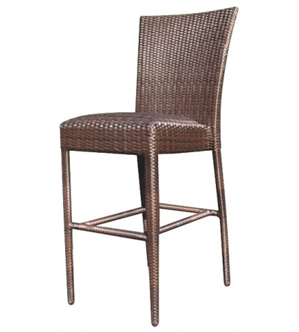 Woodard Company - All-Weather Padded Seat Barstool without Arms - S593091