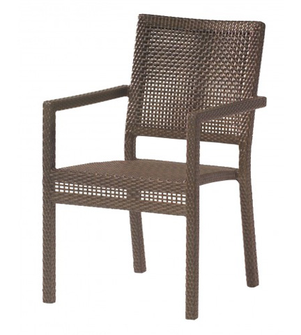 Woodard Company - All-Weather Miami Dining Arm Chair - S601501