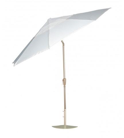 Woodard Company - Aluminum Push-Button Tilt Umbrella - 7821CW