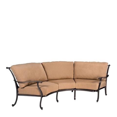 Woodard Company - New Orleans Crescent Sofa - 3W0464