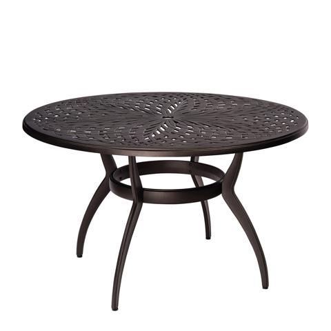 Woodard Company - Apollo Round Umbrella Dining Table - 7U48BT