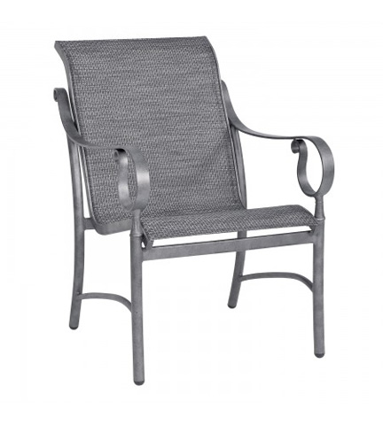 Woodard Company - Ridgecrest Sling Dining Arm Chair - 80M401