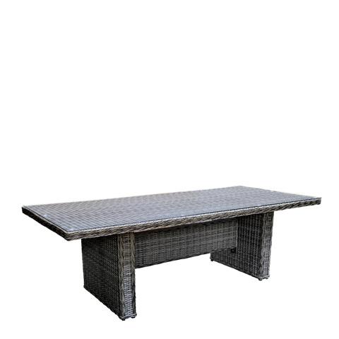 Woodard Company - Bay Shore Rectangular Umbrella Table - S509702