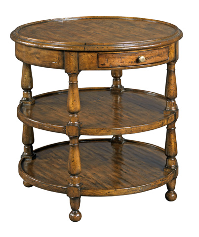 Woodbridge Furniture Company - Round Lamp Table - 1190-08