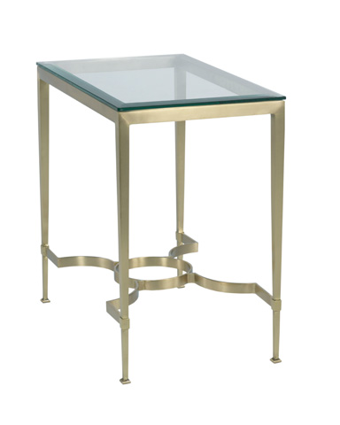 Woodbridge Furniture Company - Brass Lamp Table - 1198-55