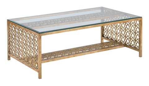 Woodbridge Furniture Company - Gilt Cocktail Table - 2116-50