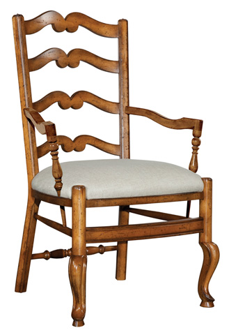 Woodbridge Furniture Company - Ladder Back Arm Chair - 7019-26