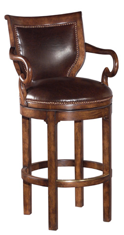 Woodbridge Furniture Company - Paddington Swivel Barstool - 7050-11