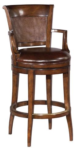 Woodbridge Furniture Company - Swivel Barstool - 7076-11