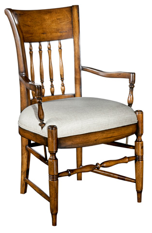 Woodbridge Furniture Company - Spindle Back Arm Chair - 7149-11