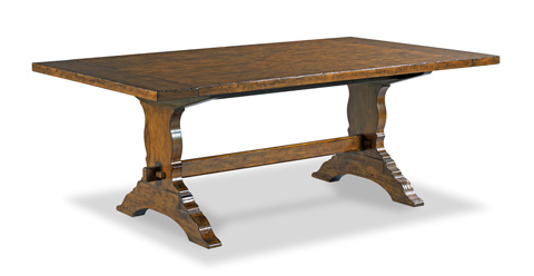 Woodbridge Furniture Company - Sonoma Trestle Dining Table - 5070-08