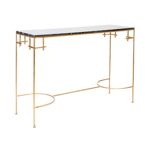 Worlds Away - Hammered Gold Leaf Console - MARCY GB