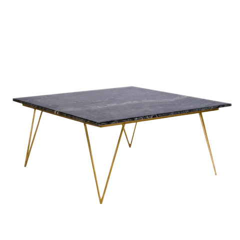 Worlds Away - Gold Leaf Coffee Table - NEAL GB
