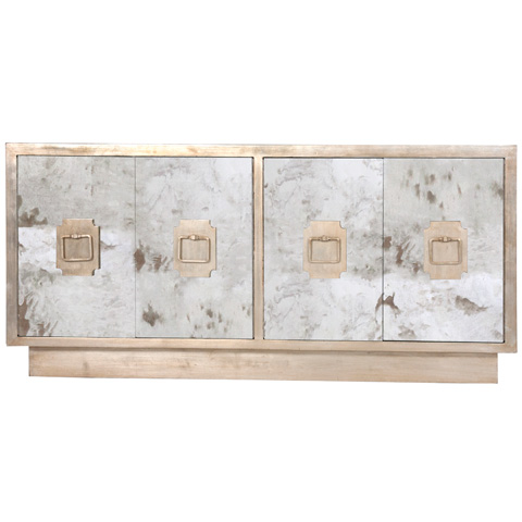 Worlds Away - Four Door Entertainment Console - PONTI S