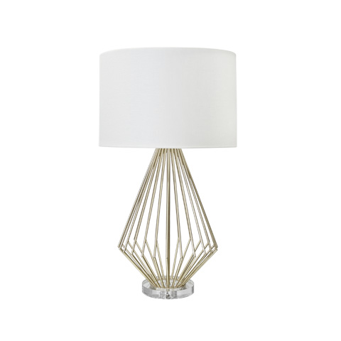 Worlds Away - Silver Leaf Table Lamp - TRUMAN S