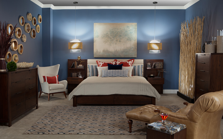 Soothing Blue Master Bedroom Retreat
